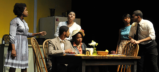 African American Theater Arts Troupe Performers in the Fall 2013 Production of The Amen Corner.